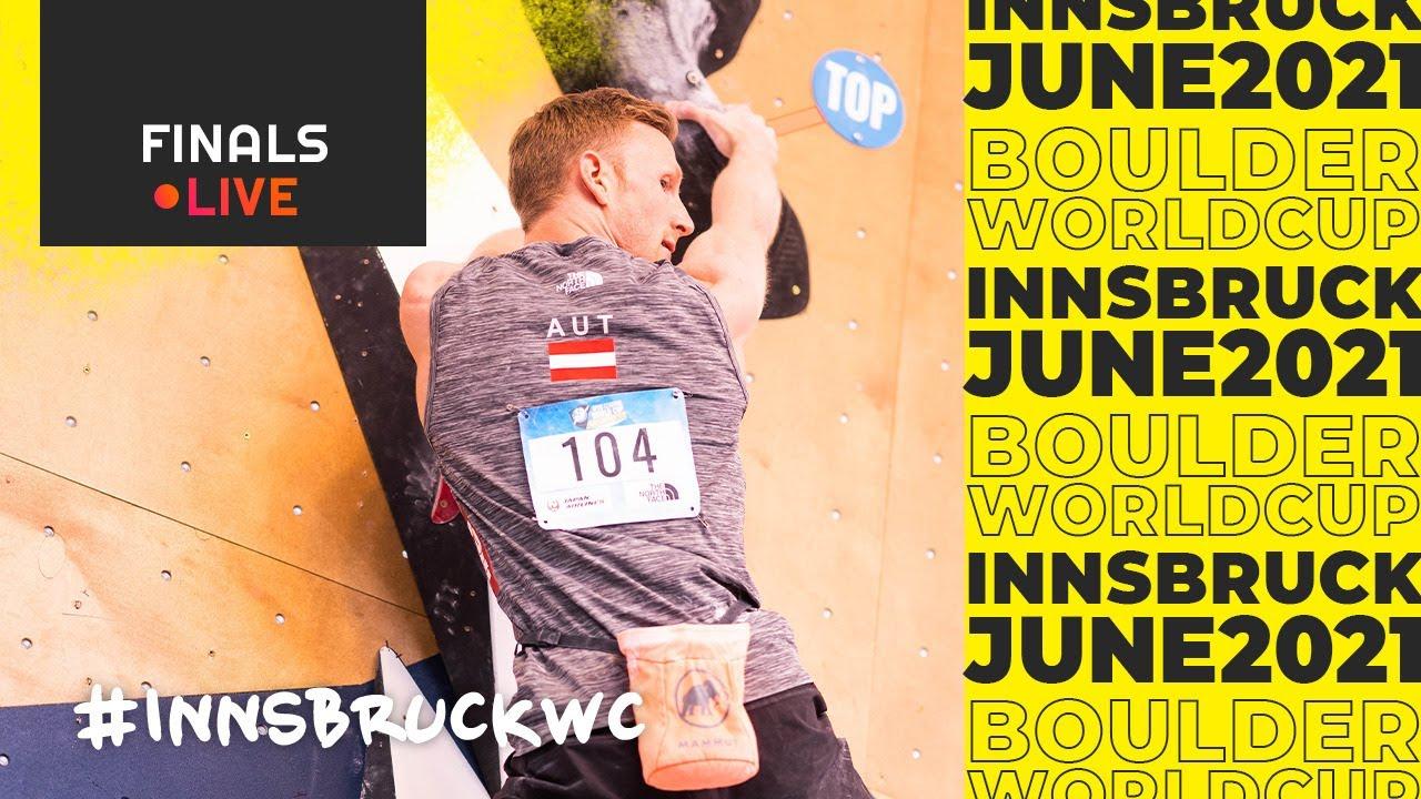 IFSC World Cup Innsbruck 2021 || Boulder finals