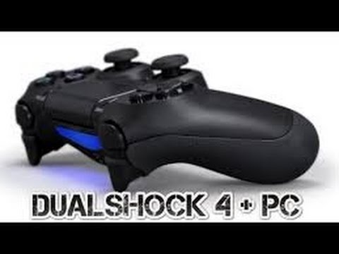 how to connect ps4 controller to pc ds4