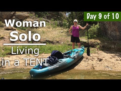 Kayaking on a Beautiful Lake in Colorado 9/10 days - Our Journey :: Episode #75