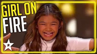 Angelica Hale WINS The Gold Twice on America's Got Talent | Kids Got Talent