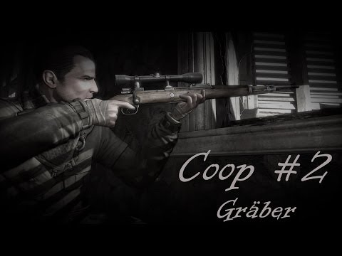 Let's Coop: Sniper Elite V2 [#2] Gräber [Full HD 1080p] Gameplay PC Deutsch
