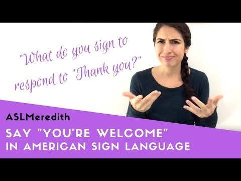 How do you say no in american sign language
