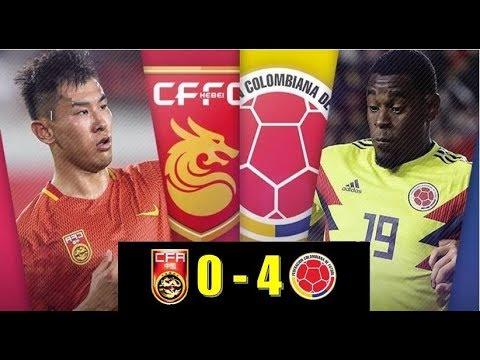 Download Colombia vs China 4 -0 - Resumen - Goles - Amistoso 2017