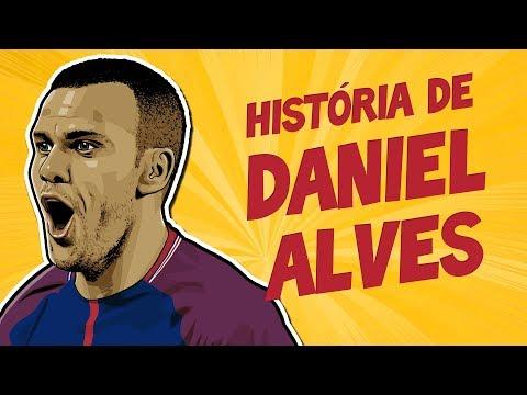 """A EMOCIONANTE história de DANIEL ALVES - """"Andava 20 km até a escola"""""""