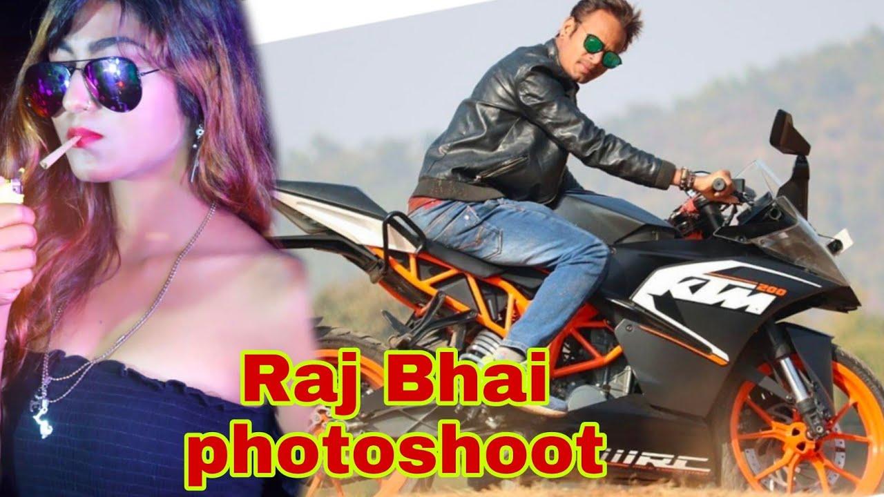 Raj Bhai and Khushi Raj 's Photoshoot