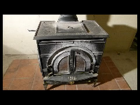 Wood Stove By Pass Door Repair Highlights - Wood Stove By Pass Door Repair Highlights - YouTube