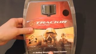 trackIR 5 Unboxing Test and Review Head Tracker