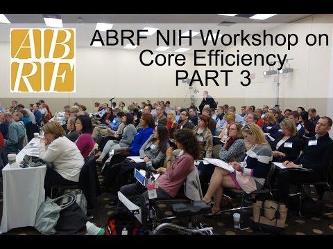 ABRF NIH 2015 part 3