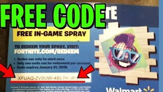 Fortnite Walmart Code giveaway