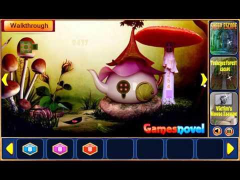 Games Novel Fairy Town Escape