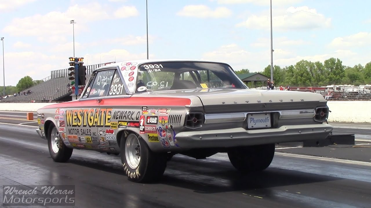 Quick Super Stock 1965 Plymouth Belvedere - YouTube