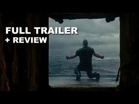Noah 2014 Official Trailer + Trailer Review : Darren Aronofsky - HD PLUS