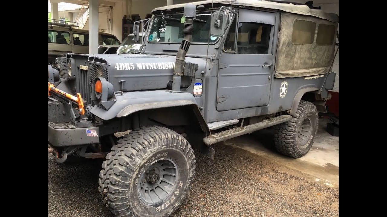 Military Jeep For Sale >> 4dr5 jeep - YouTube