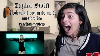 """Download Lagu TAYLOR SWIFT """"LOOK WHAT YOU MADE ME DO"""" MUSIC VIDEO REACTION/REVIEW Mp3"""