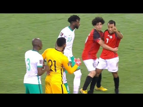 ملخص مباراة السعودية واليمن | تصفيات كأس العالم 2022