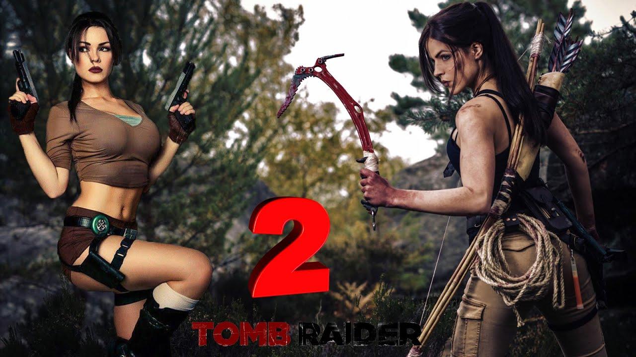 Tomb Raider как все начиналось,прохождение  часть 2.