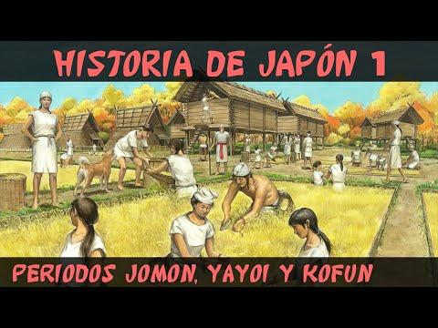 JAPÓN 1: Prehistoria - Periodos Jomon, Yayoi y Kofun
