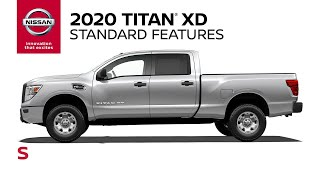 homepage tile video photo for 2020 Nissan Titan XD S Walkaround & Review
