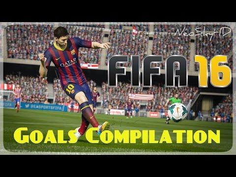 FIFA16 Goals and Skills Compilation -  Demo Goles y Trucos en PS4