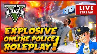 GTA 5 Online Police Roleplay - KUFFS Crew Patrol | GTA V Cops and Criminals Online Multiplayer