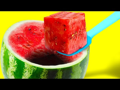 32 FUN WAYS TO COOK USUAL FOOD    Watermelon Hacks and Cheese Recipes