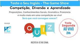 Game Show - Quiz - Teste o Seu Inglês