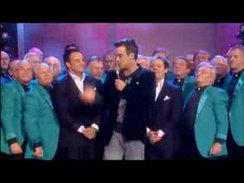 Robbie @ Ant & Dec, White Christmas