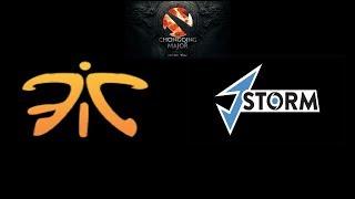 Fnatic vs J.Storm The Chongqing Major Highlights Dota 2