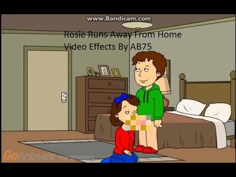 Rosie Runs Away From Home Video Effects