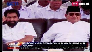 Berkacamata Hitam, Prabowo Hadiri Peringatan 14 Tahun Tsunami Aceh - SIP 27/12