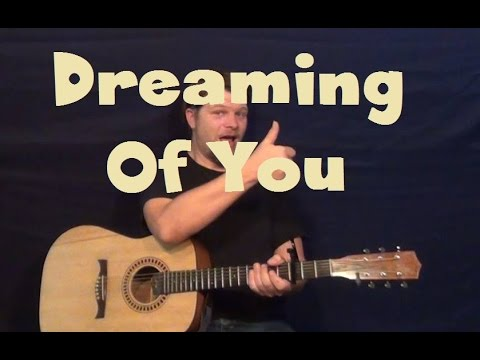 Dreaming Of You (The Coral) Easy Strum Guitar Lesson How to Play Tutorial