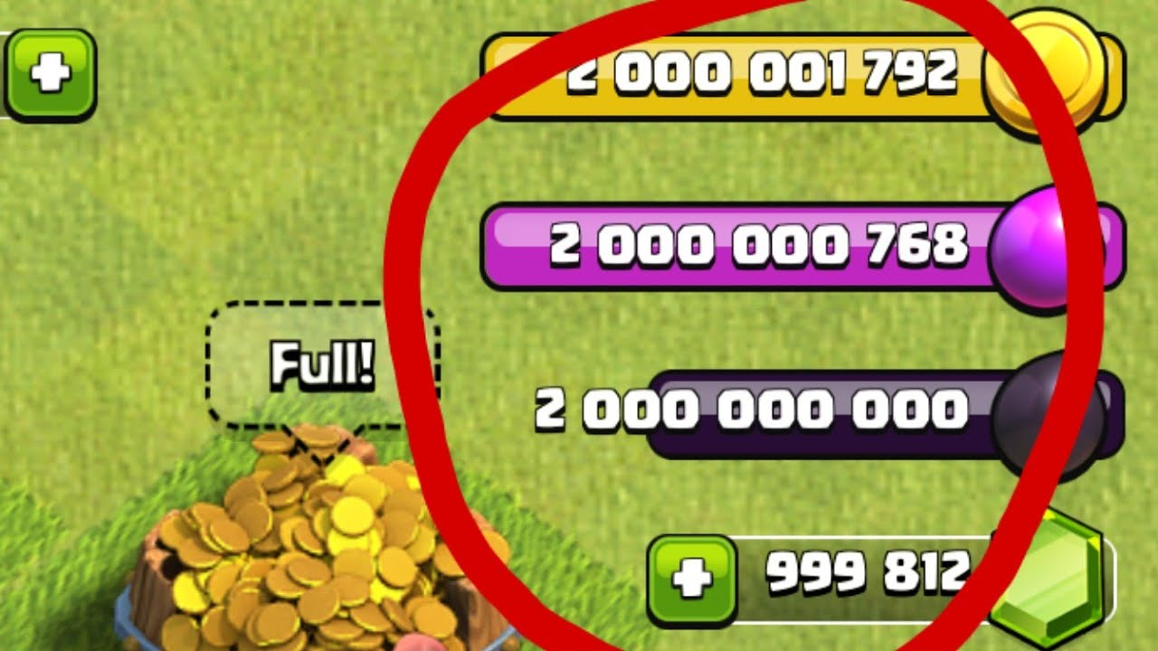 clash of clans unlimited resources download