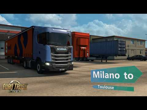 Euro Truck Simulator 2 Milano to Toulouse Aircraft Tyres