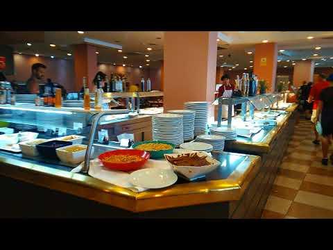 Hotel Best Cambrils  4* Restauraunt .Завтрак обзор. Frühstuck. Breakfast. Отзыв, мнение.