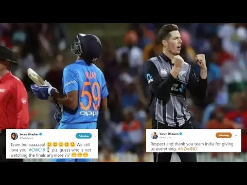 Bollywood celebs react to India's exit from ICC cricket World Cup 2019 Mp3
