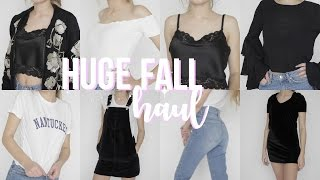 HUGE Fall Try On Haul 2016!