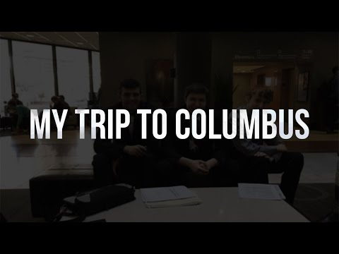 MY TRIP TO COLUMBUS VLOG | March 16th & 17th, 2017