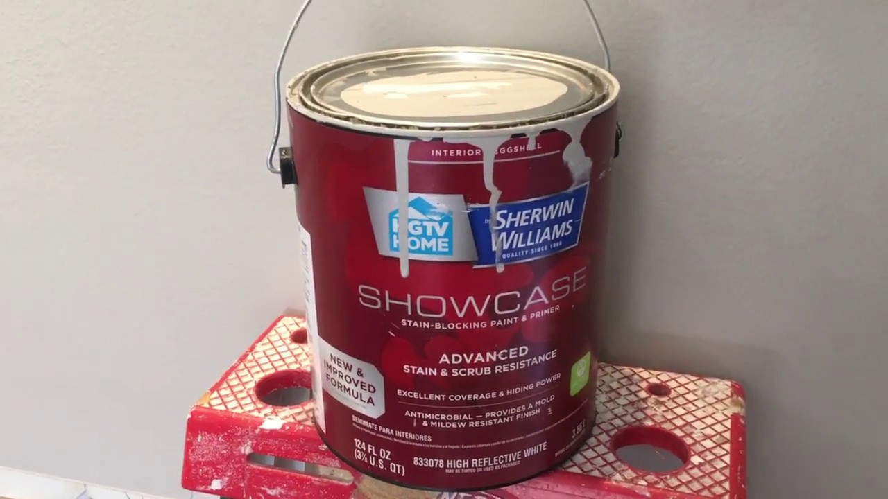 Does Sherwin Williams Showcase Cover In