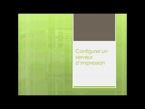 Installer et configurer un serveur d'impression sous Windows Server