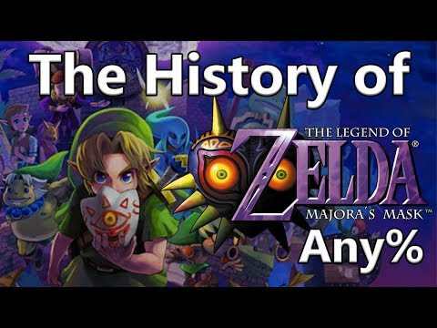 The History of Majora's Mask Any%