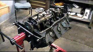 455 BUICK ENGINE OIL PAN, TIMING CHAIN, CRANK GEAR & CAM REMOVAL: PART 7