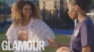 GLAMOUR X NIKE: What It Feels Like To Be A Female Footballer
