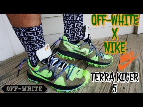 OFF-WHITE NIKE TERRA KIGER 5 \