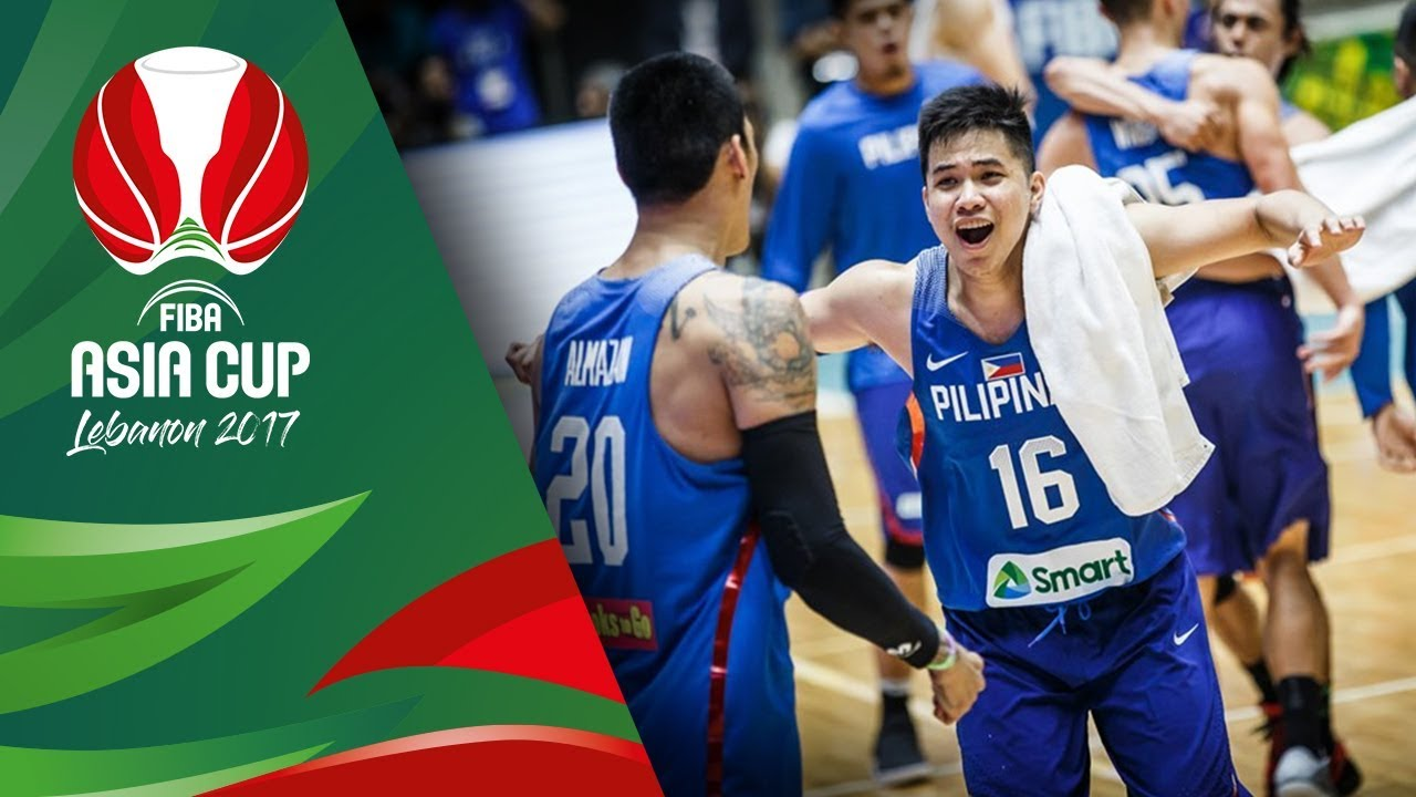 China v Philippines - Full Game - FIBA Asia Cup 2017