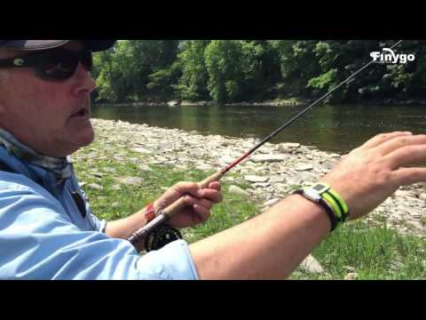 Finygo Go French Leader Fishing With Hywel Morgan