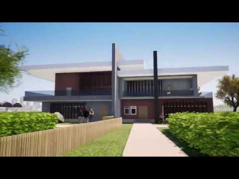 Exterior render with Twinmotion 2018 - YouTube