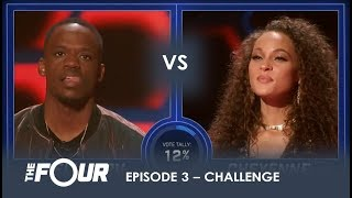 Download lagu Rell vs Cheyenne Rapper Wants To AVENGE The Loss of Lex Lu Will It Work S1E3 The Four