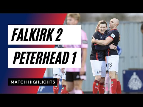 Falkirk Peterhead Goals And Highlights
