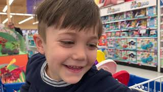 Shopping for Toys with Zack at Toy Store
