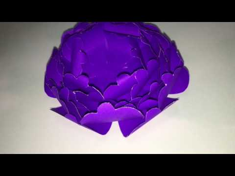 How to make a paper peony flower.